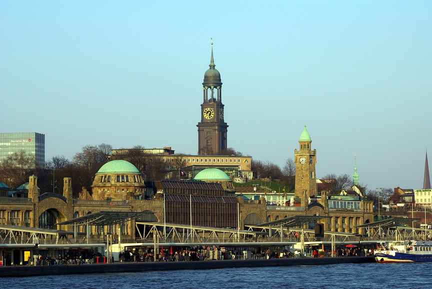 Hamburg Landungsbruecken